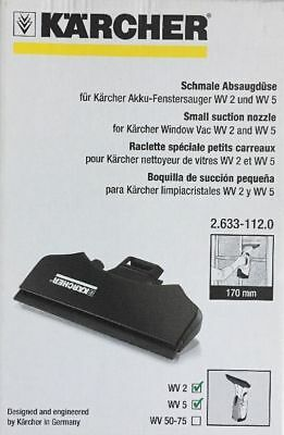 Karcher WV2 WV5 Window Vac Replacement Small Suction Nozzle 170mm 2.633-112.0