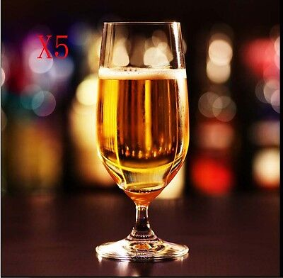 New 5X Capacity 368ML Height 178MM Transparent Whisky Wine Glass/Glassware %