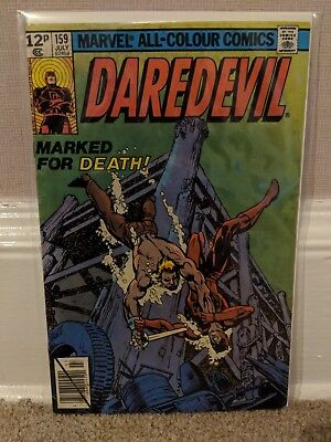 Daredevil #159 Key Issue 2nd Frank Miller 1979 FN