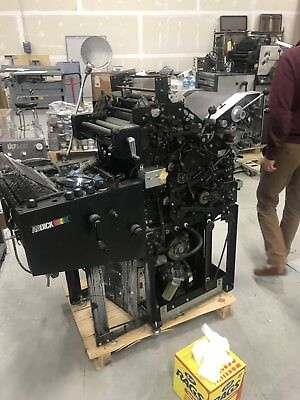 AB Dick 9870D - 2 Color Press : for parts