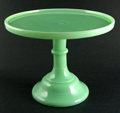 Jadite Jadeite Green Milk Glass 9  Cake Stand Mosser Glass & JADITE JADEITE GREEN Milk Glass 9