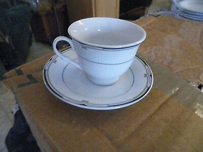 Fine China demi cup and saucer () 6 available