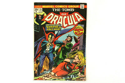Vintage Marvel Comic Book Issue #29 Bronze Age The Tomb of Dracula Feb 1975