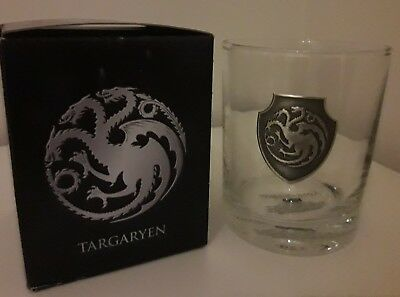 Game of Thrones Whiskey Glas - Targaryen exklusiv GoT OVP rar limited