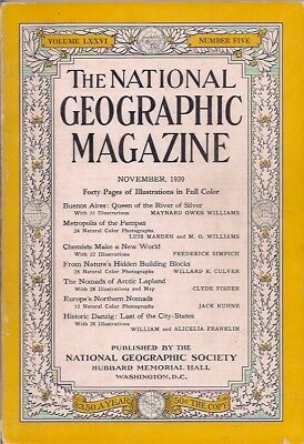 national geographic-NOV 1939-BUENOS AIRES:QUEEN OF THE RIVER OF SILVER.