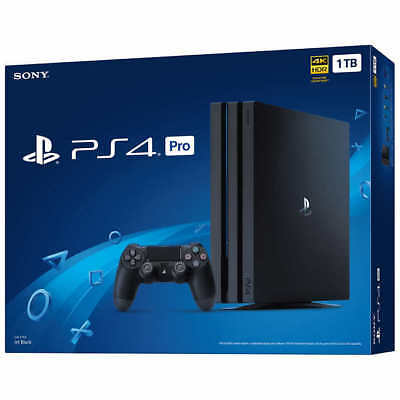 BRAND NEW Sony PS4 Pro 1TB Game Console SEALED IN BOX