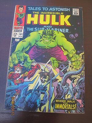 Vintage  Collectible Marvel  ((Silver Age)) The Incredible Hulk Comices