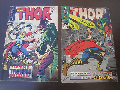 Vintage  2# Collectible Marvel  ((Silver Age)) The Mighty Thor Comices
