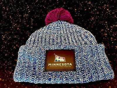 Love Your Melon Super Bowl Lii Beanie New With Pin Set