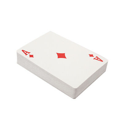 Playing Cards Poker Funy Paper Blue and White Friends Magic Game Interaction