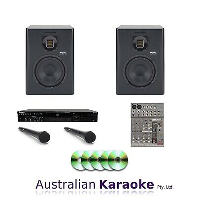 NEW/DEMO Complete Studio CDG Karaoke System 200W With 20 Discs