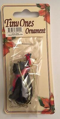 Giant Schnauzer Ornament Black Mini Dog Tiny Ones by Conversation Concepts New