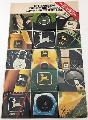 1976 John Deere Catalog: Introducing the 1976 John Deere Lawn and Leisure Line