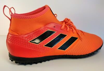 newest be0bf ff8ca ADIDAS ACE TANGO 17.3 TF Indoor Soccer Mens Shoes Cleats Orange BY2203 Size  12