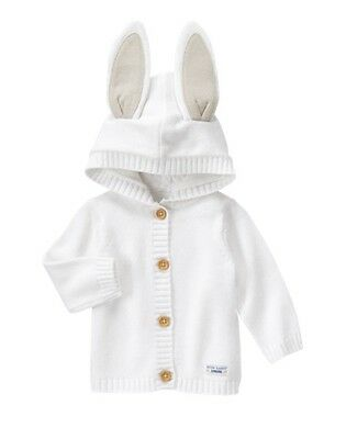 NWT Gymboree Peter Rabbit Sweater Cardigan Jacket Baby Boy or Girl 0 3 6 12M