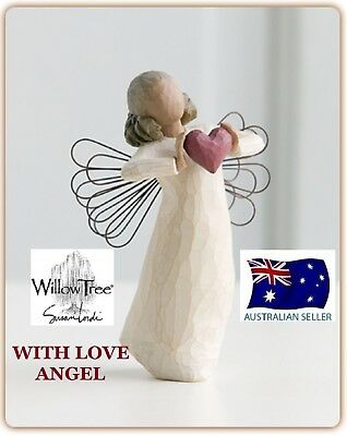 WITH LOVE ANGEL Demdaco Willow Tree Figurine By Susan Lordi BRAND NEW IN BOX