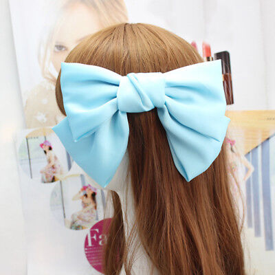 Woman Cute Bowknot Hairpin Barrettes Hairclips Girls Headwear Hair Accessories