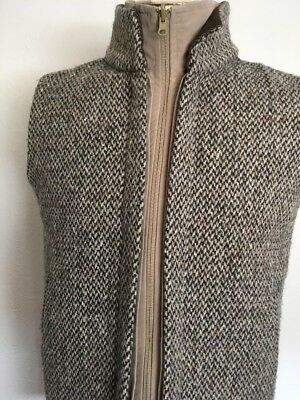 HENRY WHITE IRELAND TWEED DOUBLE VEST ~ Small ~ Wool ~ Ireland Waist Coat