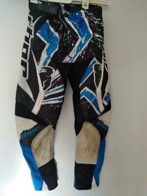 Thor Mx Motocross Pants Boys Size 22 Pre-Owned