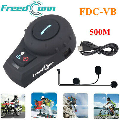 Bluetooth Intercom BT Moto Casco Interphone Comunicazione Interfono Cuffie Radio