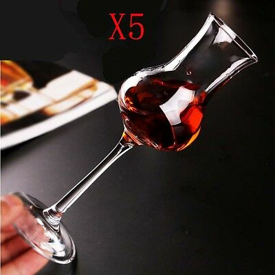 New 5X Capacity 80ML Height 168MM Creative High Foot Red Wine Glass/Glassware %