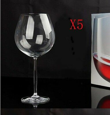 New 5X Capacity 613ML Height 247MM Creative High Foot Red Wine Glass/Glassware %