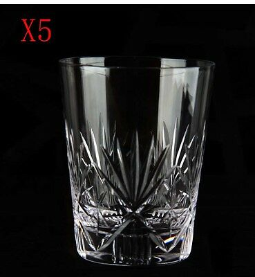 New 5X Capacity 320ML Height 105MM Retro Creative Whisky Wine Glass/Glassware %