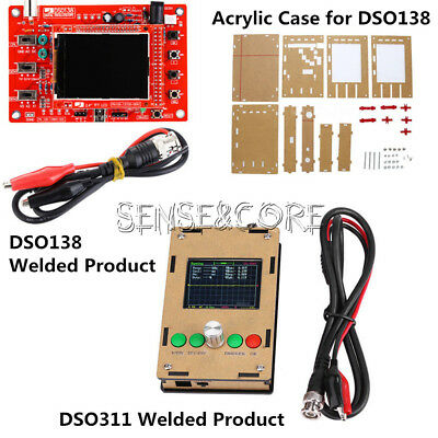 "Fully Assembled Welded DSO138/DSO311  2.4"" TFT Digital Oscilloscope (1Msps) S"