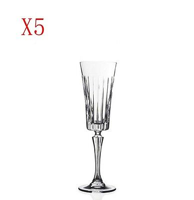 New 5X Capacity 210ML Height 238MM High Foot Champagne Wine Glass/Glassware %