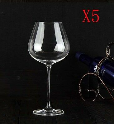 New 5X Capacity 800ML Height 260MM Transparent Large Red Wine Glass/Glassware %