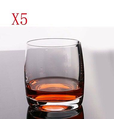 New 5X Capacity 230ML Height 74MM Lead Free Whisky Wine Glass/Glassware %