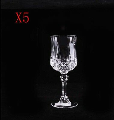 New 5X Capacity 170ML  Height  165MM  Transparent  Red Wine Glass/Glassware %