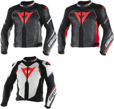 Mens Motor Bike  -Super-Speed-D1-Perforated-LeatherJacket(All Colours&Sizes)