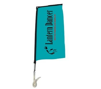 Rectangle Clip Flags Indoor 600 MM for Home, Office, Retail, Vehicle, Colleges