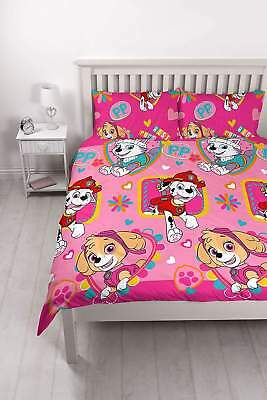 Paw Patrol Double Rotary Duvet Set /homeware   Brand New   Free Delivery