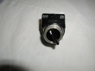 Square D 2 position Maintained selector switch
