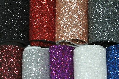 GLITTER FABRIC JAZZ LARGE FLAKES Sparkle Wall coverings Craft Premium Quality