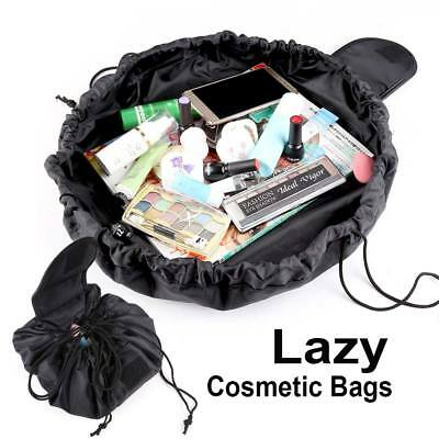 Portable Makeup Drawstring Bags Storage Magic Travel Pouch Lazy Cosmetic Bag
