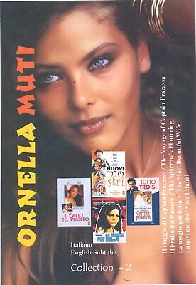Ornella Muti Collection 2 with English Subtitles. Collezione Ornella Muti 2