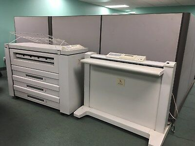 Xerox 8830 Wide Format Engineering Scanner Printer with 7356 Scanner