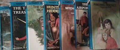 Lot of 7 Hardy Boys Detective Hardcover Children Books by Franklin W. Dixon