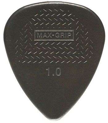 Dunlop Max-Grip Standard 1.0  (Heavy) Nylon Picks, 12 pack, 449P100