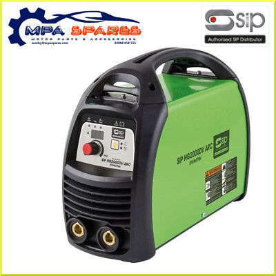 Sip 05717 Weldmate Hg2000Dv Dual Voltage Arc Inverter Welder