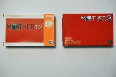 Nintendo Game Boy Advance Mother Earthbound 1+2 3 boxed Japan GBA game US Seller