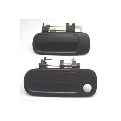 92 - 96 2 pcs = Driver Outside Outer Exterior Door Handle Set Fits: Toyota Camry