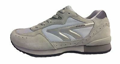 HI TEC SILVER SHADOW  LEATHER TRAINERS / SHOES All Sizes