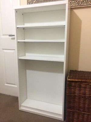 BESTA WHITE FRAME with five shelves (60x20x128 cm) Good condition ...