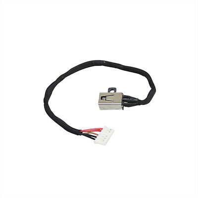DC POWER JACK with  CABLE RYX4J  FOR Dell Inspiron 3451 3452 3551 3552 3558