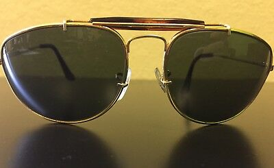 Vintage Gold B&L Ray Ban Aviator Sunglasses
