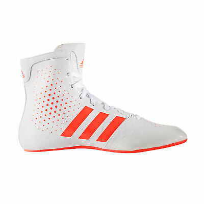 adidas KO Legend 16.2 Boxing Trainer Shoe Boot White/Red